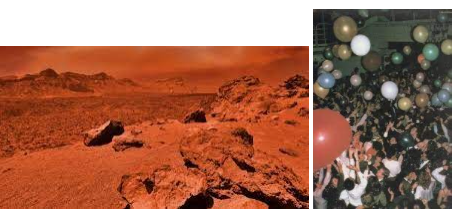 Grad Night on Mars