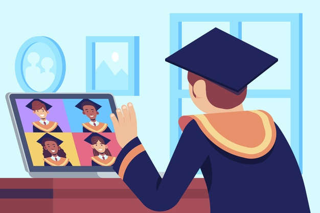 The Best graduation of all time: 2021 graduation will be through ZOOM